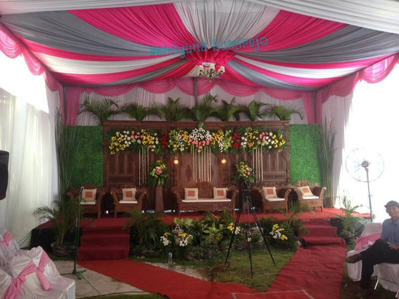Layout Tenda Pesta