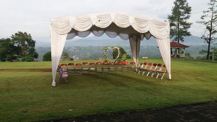 Tenda Plavon Rumbai Cantik